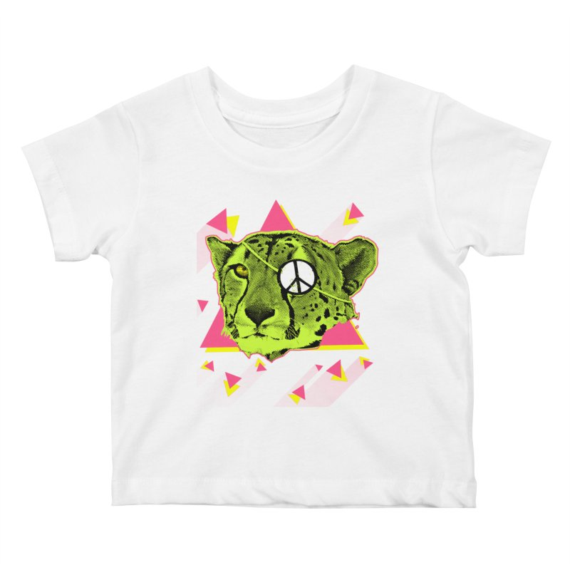 The Cheetah Neon Kids Baby T-Shirt by inboxstreetwear's Shop