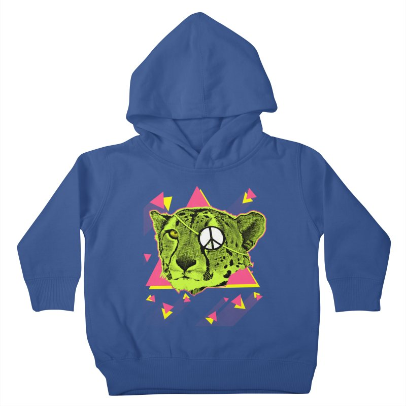 The Cheetah Neon Kids Toddler Pullover Hoody by inboxstreetwear's Shop
