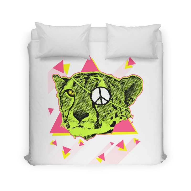The Cheetah Neon Home Duvet by inboxstreetwear's Shop