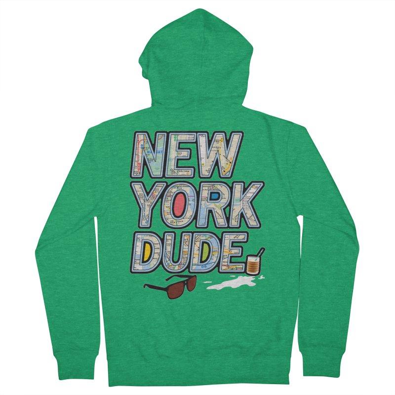 The Dude NY Men's Zip-Up Hoody by inboxstreetwear's Shop