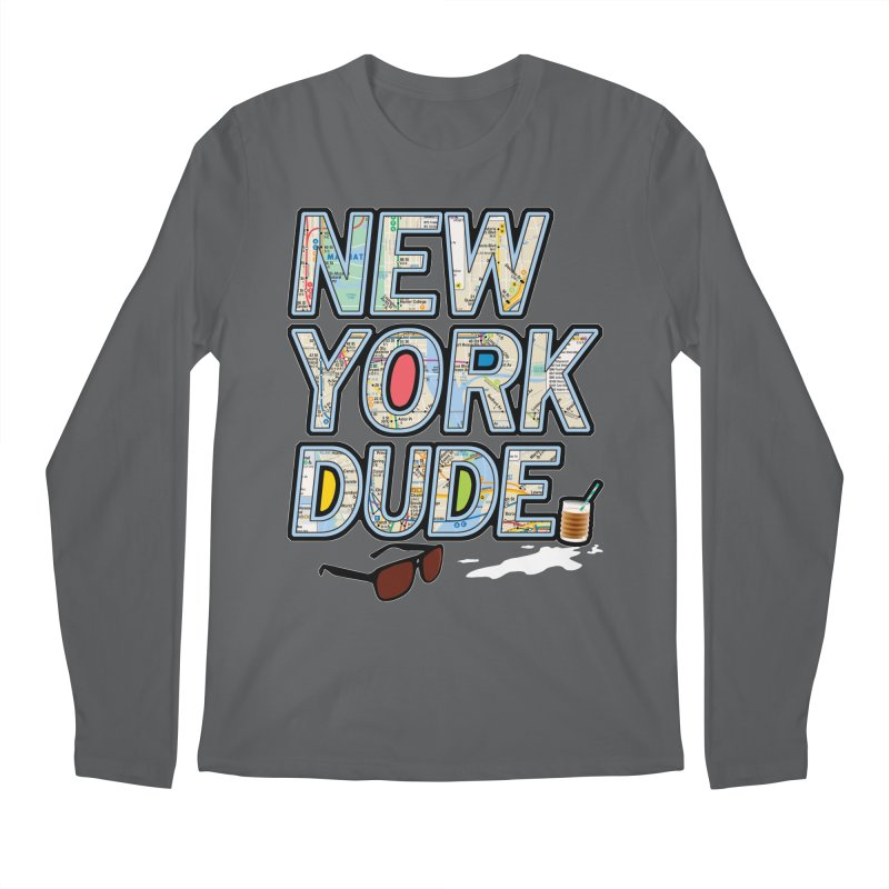 The Dude NY Men's Longsleeve T-Shirt by inboxstreetwear's Shop