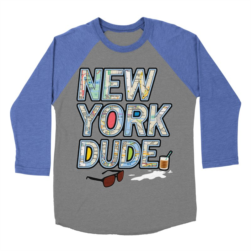 The Dude NY Men's Baseball Triblend T-Shirt by inboxstreetwear's Shop