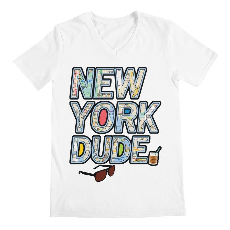 The Dude NY Men's V-Neck by inboxstreetwear's Shop