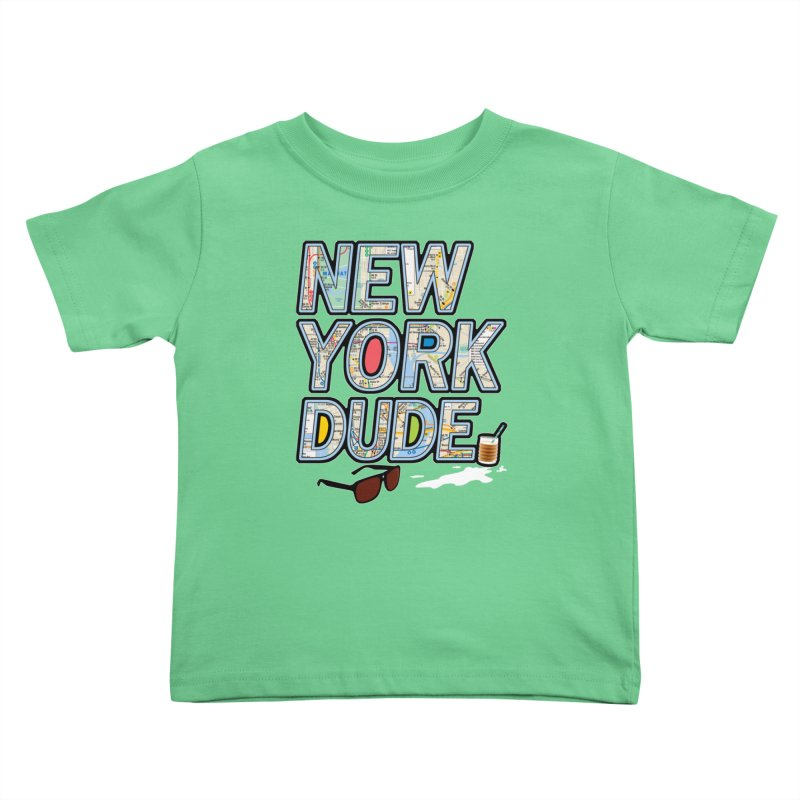 The Dude NY Kids Toddler T-Shirt by inboxstreetwear's Shop