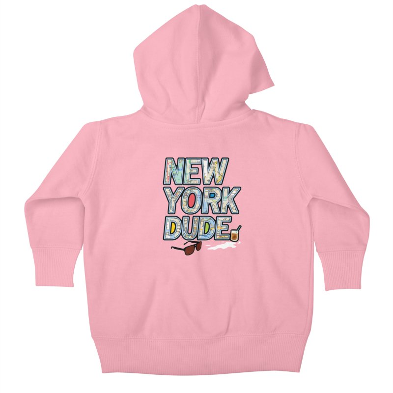 The Dude NY Kids Baby Zip-Up Hoody by inboxstreetwear's Shop