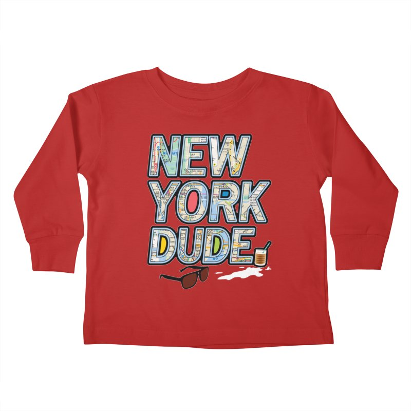 The Dude NY Kids Toddler Longsleeve T-Shirt by inboxstreetwear's Shop