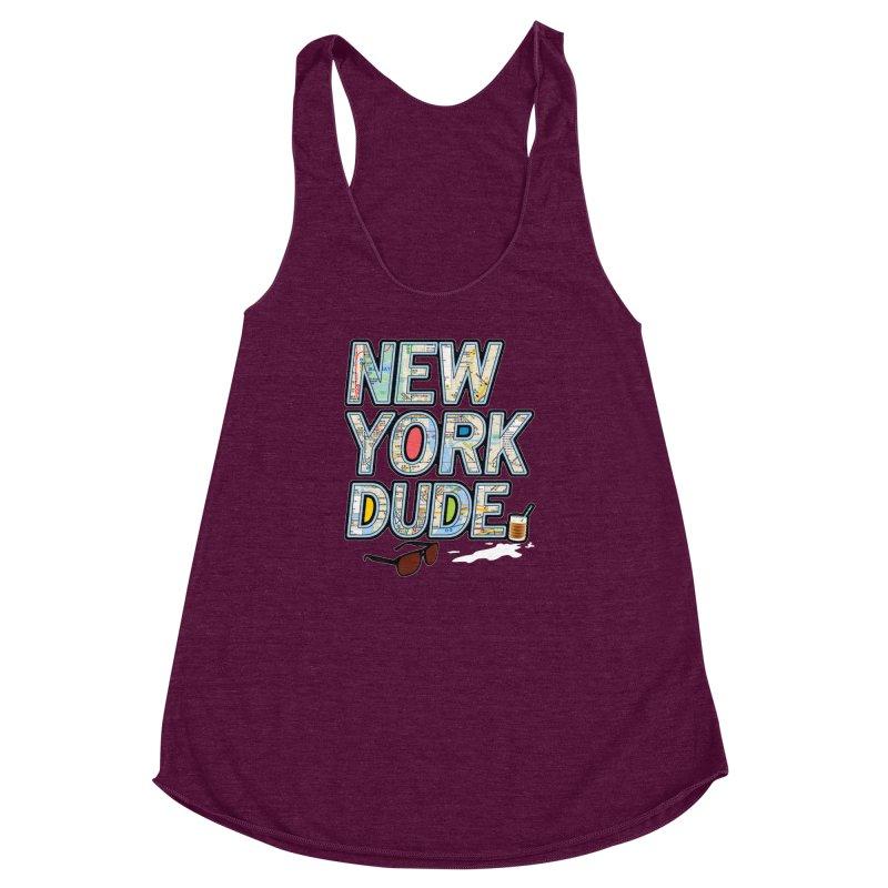 The Dude NY Women's Racerback Triblend Tank by inboxstreetwear's Shop