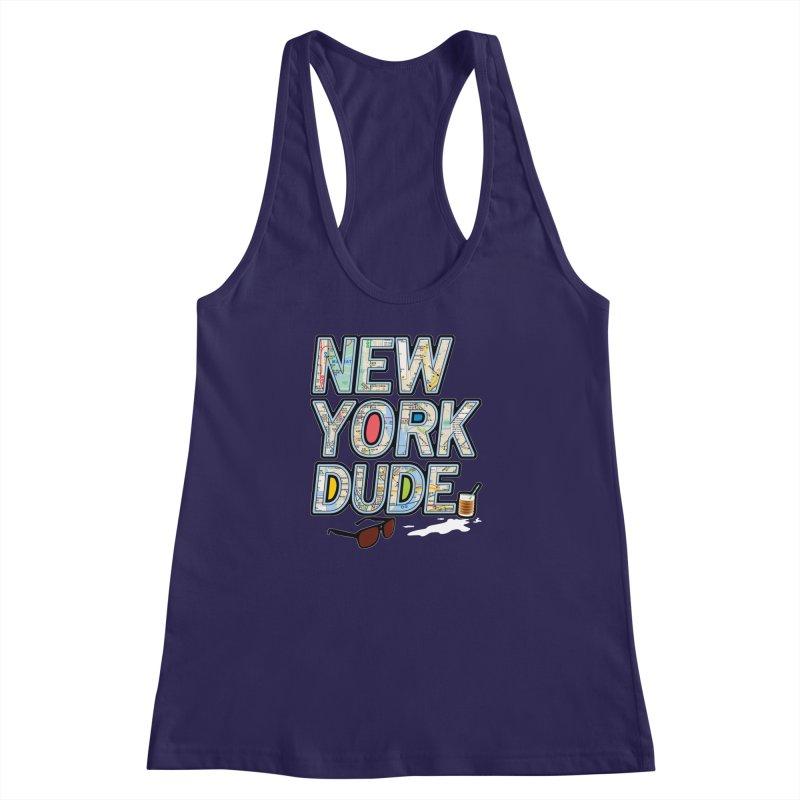The Dude NY Women's Racerback Tank by inboxstreetwear's Shop