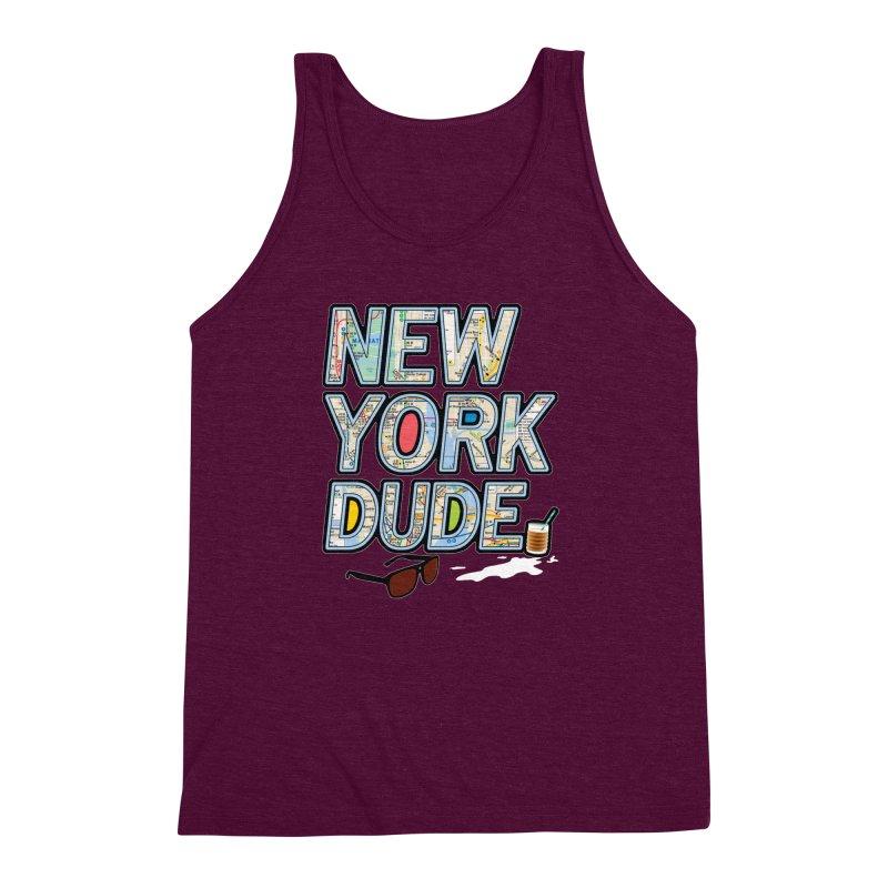 The Dude NY Men's Triblend Tank by inboxstreetwear's Shop