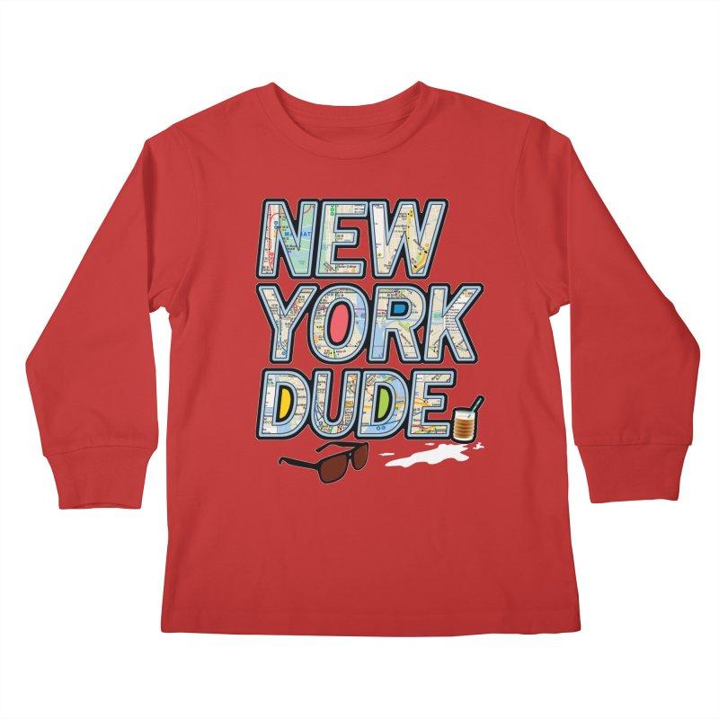 The Dude NY Kids Longsleeve T-Shirt by inboxstreetwear's Shop