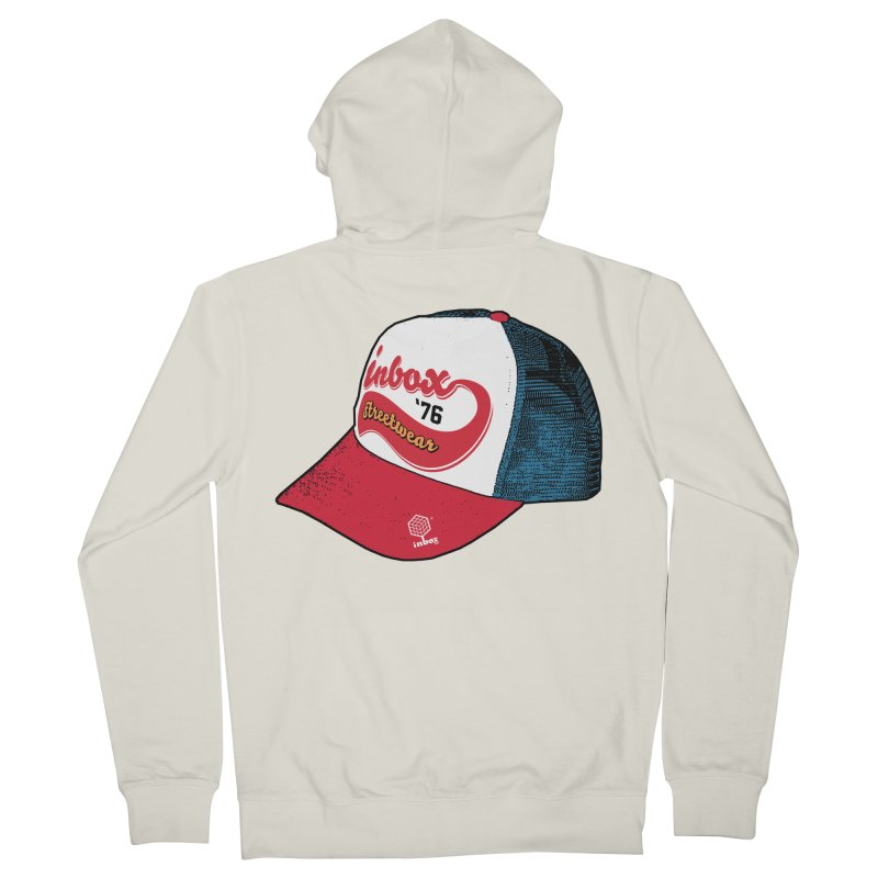 inbox mother trucker Women's Zip-Up Hoody by inboxstreetwear's Shop