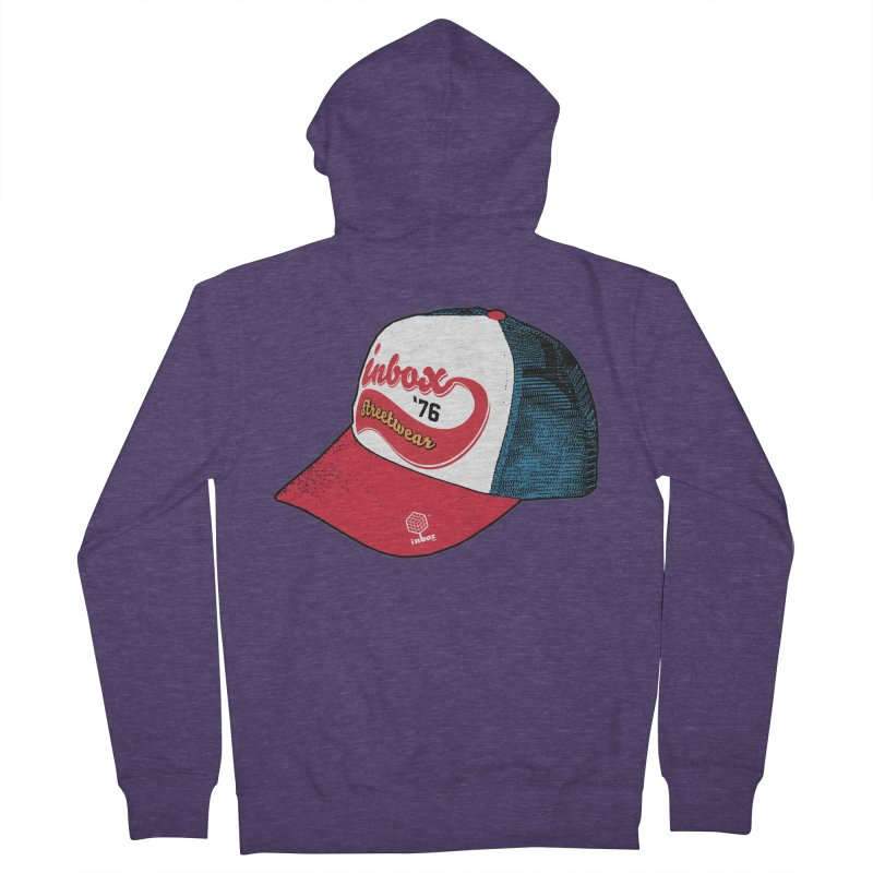 inbox mother trucker Men's Zip-Up Hoody by inboxstreetwear's Shop