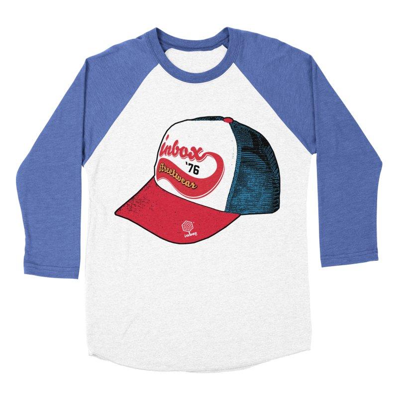 inbox mother trucker Women's Baseball Triblend T-Shirt by inboxstreetwear's Shop