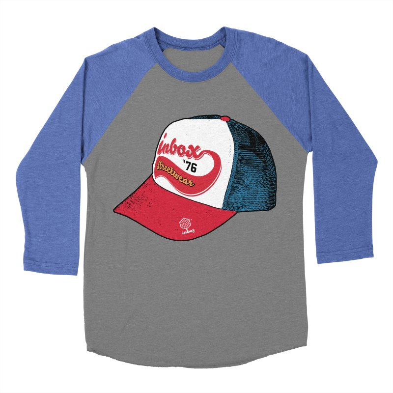 inbox mother trucker Women's Baseball Triblend T-Shirt by inboxstreetwear's Shop