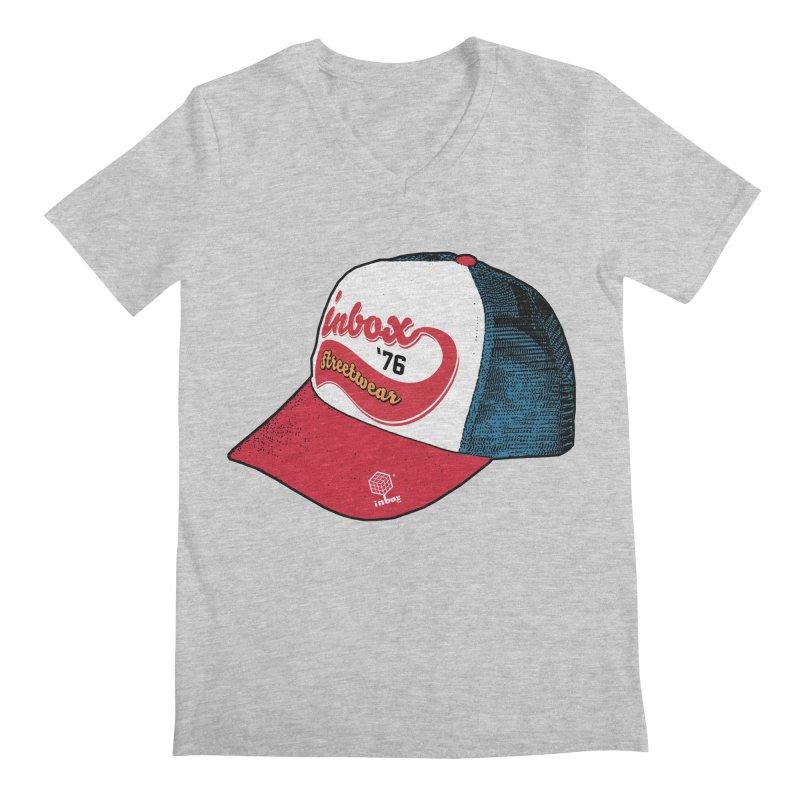 inbox mother trucker Men's V-Neck by inboxstreetwear's Shop