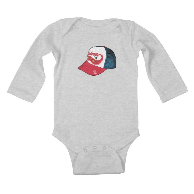 inbox mother trucker Kids Baby Longsleeve Bodysuit by inboxstreetwear's Shop