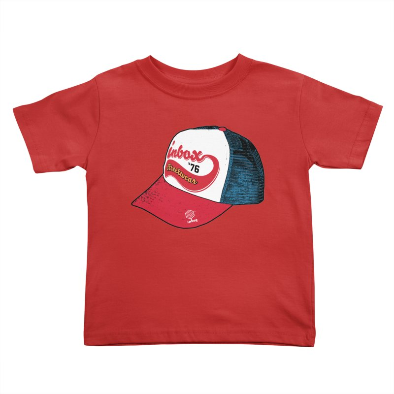 inbox mother trucker Kids Toddler T-Shirt by inboxstreetwear's Shop