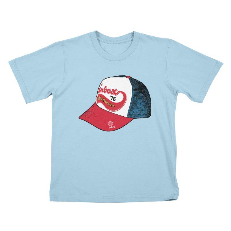 inbox mother trucker Kids T-shirt by inboxstreetwear's Shop