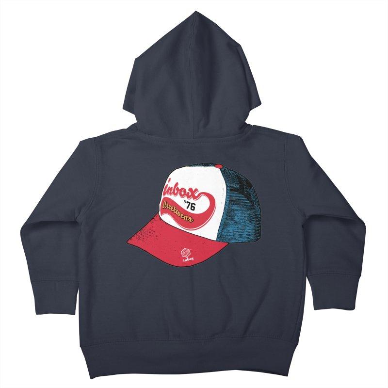 inbox mother trucker Kids Toddler Zip-Up Hoody by inboxstreetwear's Shop