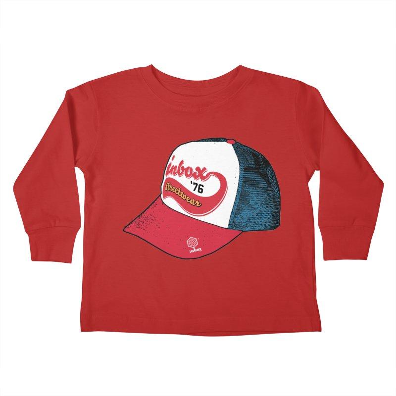 inbox mother trucker Kids Toddler Longsleeve T-Shirt by inboxstreetwear's Shop