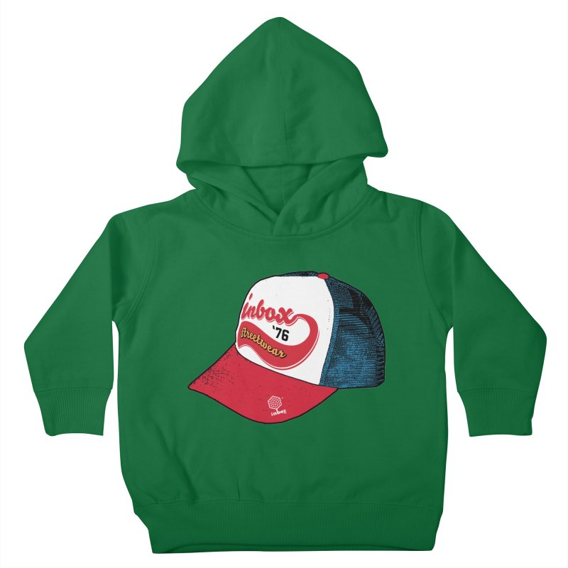 inbox mother trucker Kids Toddler Pullover Hoody by inboxstreetwear's Shop
