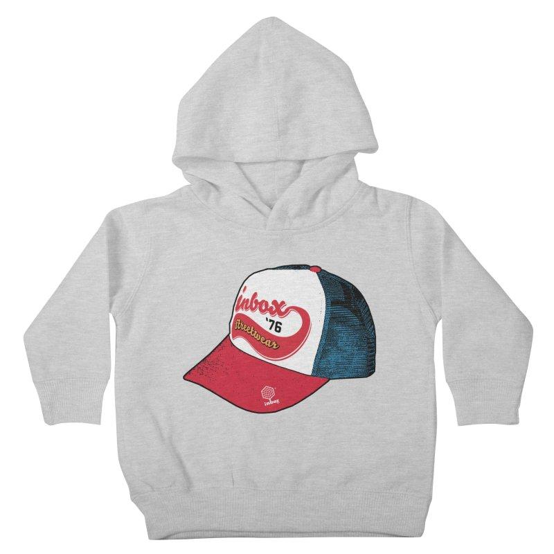 inbox mother trucker Kids Toddler Pullover Hoody by inboxstreetwear's Shop