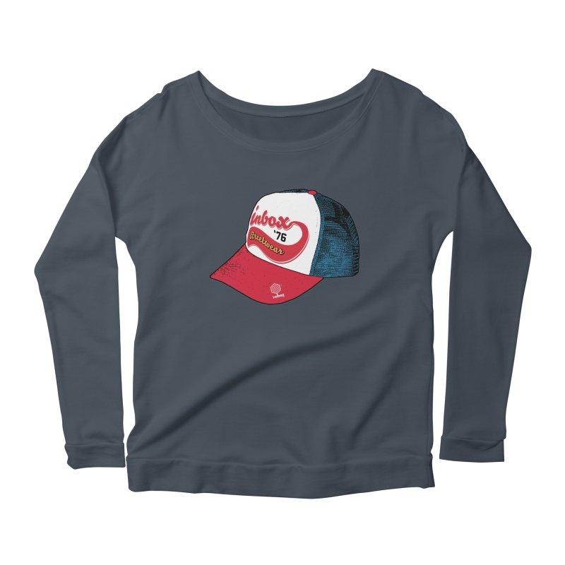 inbox mother trucker Women's Longsleeve Scoopneck  by inboxstreetwear's Shop
