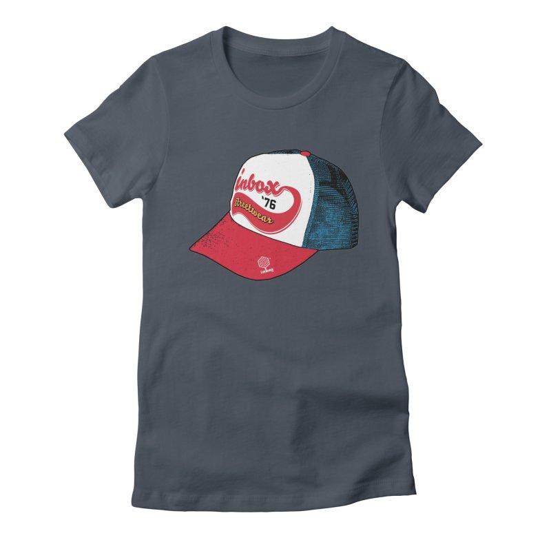 inbox mother trucker Women's Fitted T-Shirt by inboxstreetwear's Shop