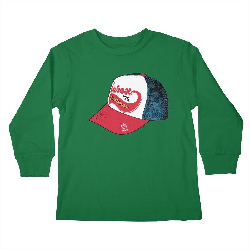 inbox mother trucker Kids Longsleeve T-Shirt by inboxstreetwear's Shop