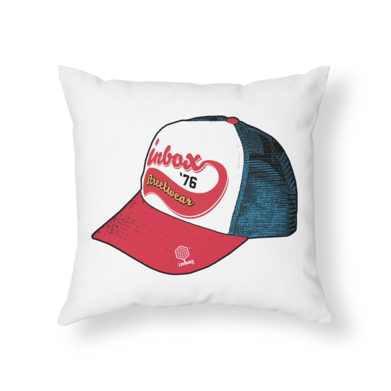 inbox mother trucker Home Throw Pillow by inboxstreetwear's Shop
