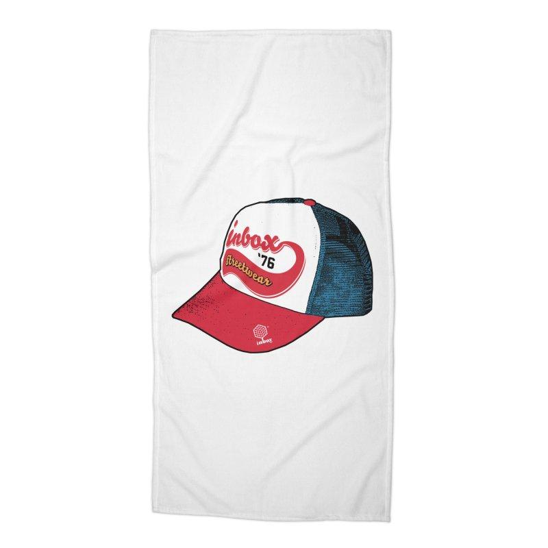 inbox mother trucker Accessories Beach Towel by inboxstreetwear's Shop
