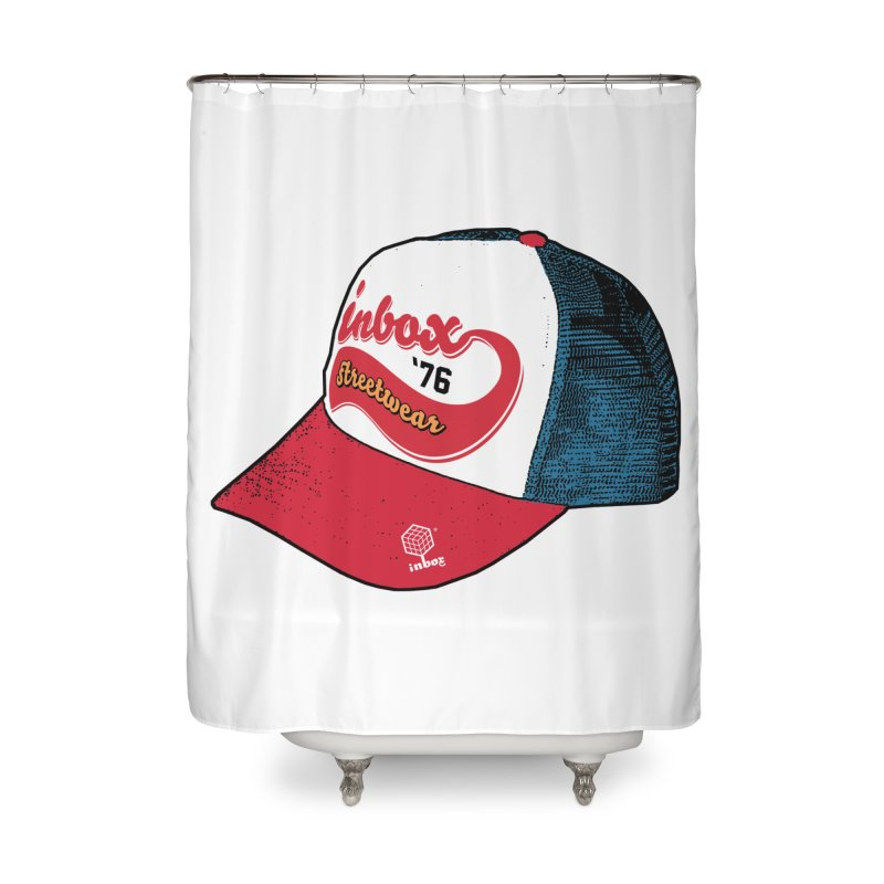 inbox mother trucker Home Shower Curtain by inboxstreetwear's Shop
