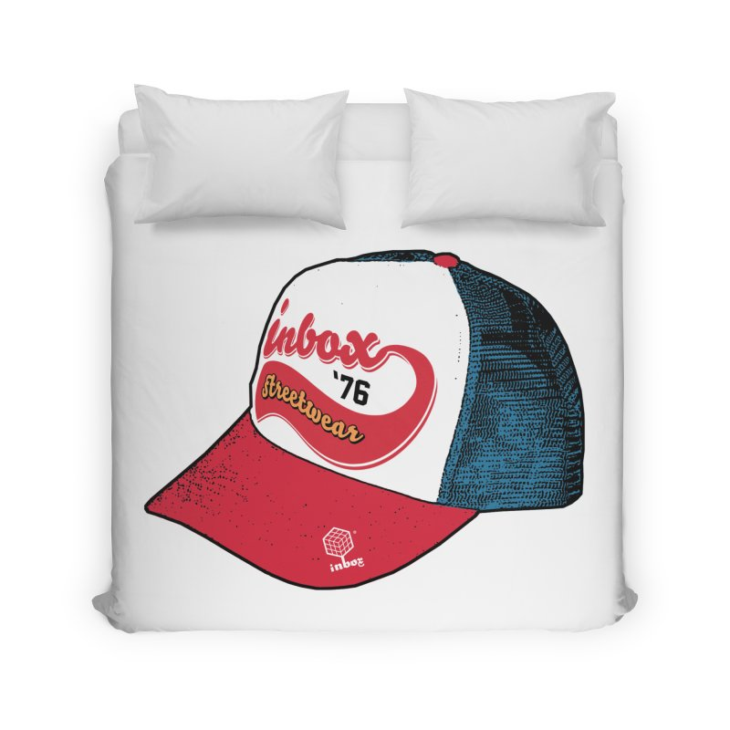 inbox mother trucker Home Duvet by inboxstreetwear's Shop