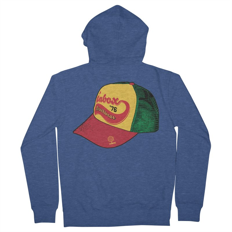 inbox rasta mother trucker Women's Zip-Up Hoody by inboxstreetwear's Shop