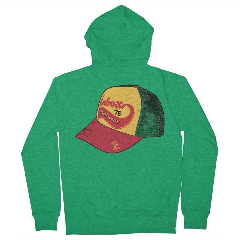 inbox rasta mother trucker Men's Zip-Up Hoody by inboxstreetwear's Shop