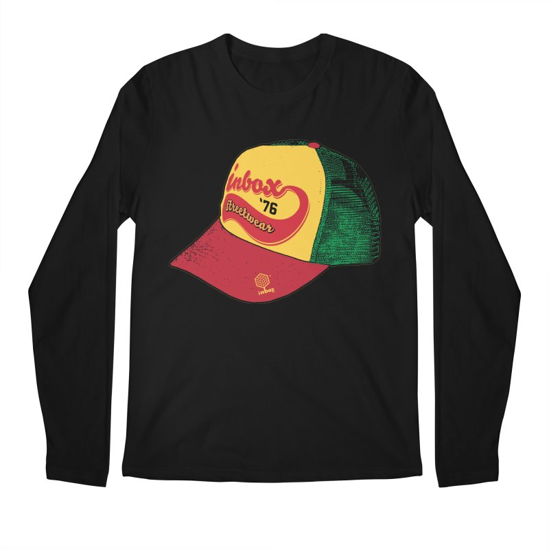 inbox rasta mother trucker Men's Longsleeve T-Shirt by inboxstreetwear's Shop