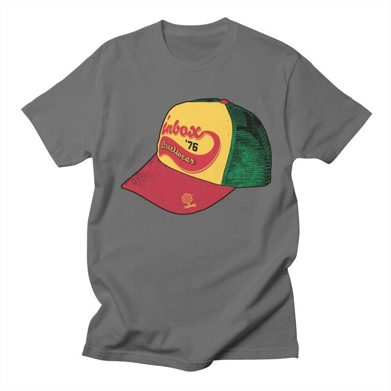 inbox rasta mother trucker Men's T-shirt by inboxstreetwear's Shop