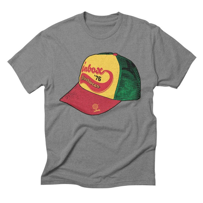 inbox rasta mother trucker Men's Triblend T-Shirt by inboxstreetwear's Shop