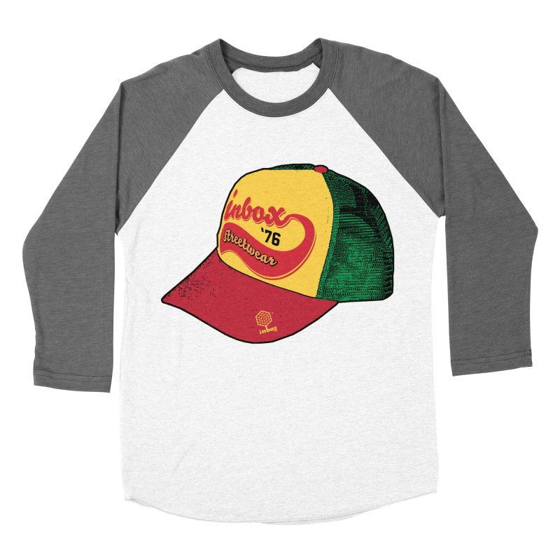 inbox rasta mother trucker Women's Baseball Triblend T-Shirt by inboxstreetwear's Shop