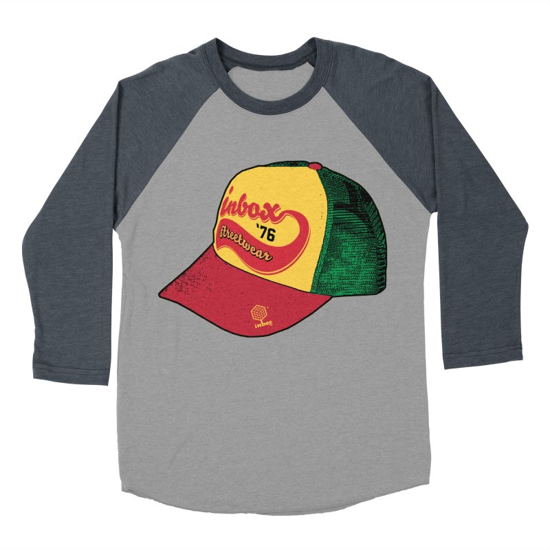 inbox rasta mother trucker Women's Baseball Triblend T-Shirt by inboxstreetwear's Shop