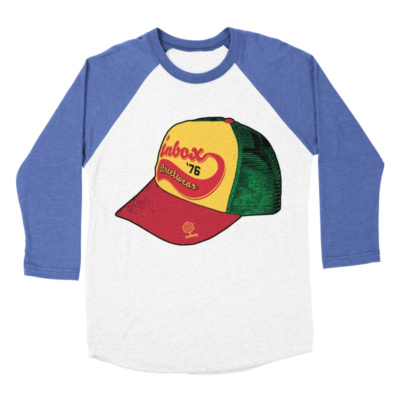 inbox rasta mother trucker Men's Baseball Triblend T-Shirt by inboxstreetwear's Shop