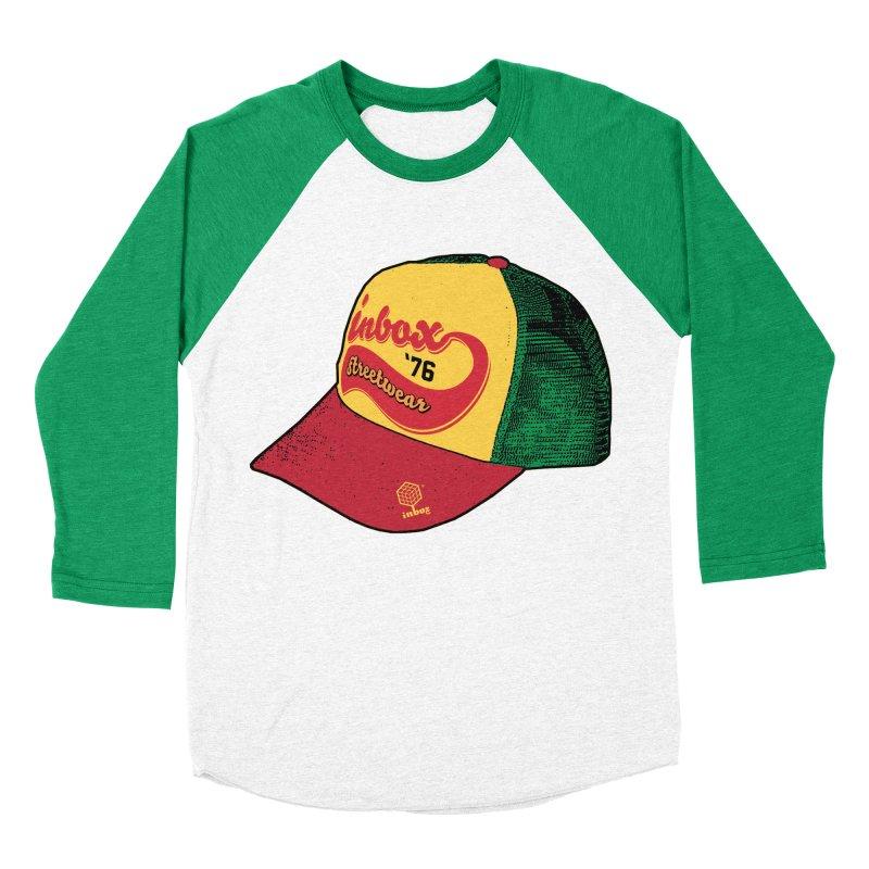 inbox rasta mother trucker Men's Baseball Triblend T-Shirt by inboxstreetwear's Shop