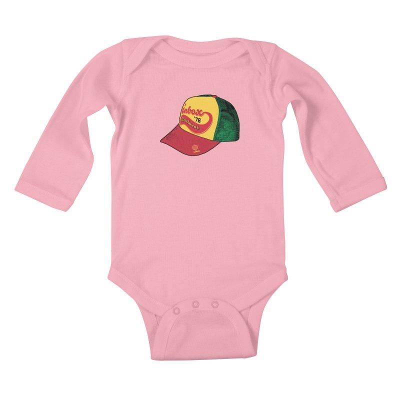 inbox rasta mother trucker Kids Baby Longsleeve Bodysuit by inboxstreetwear's Shop