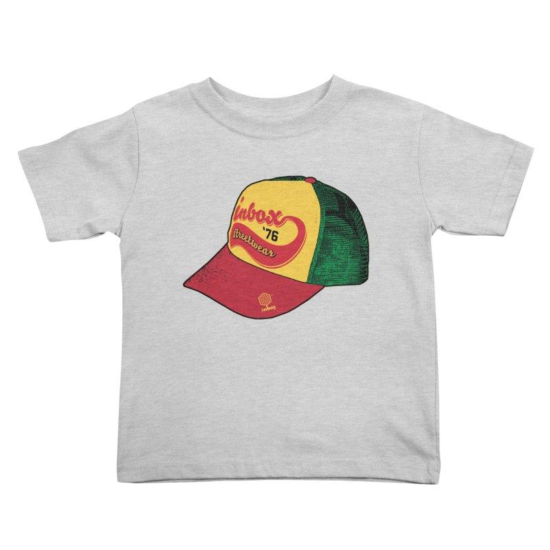 inbox rasta mother trucker Kids Toddler T-Shirt by inboxstreetwear's Shop