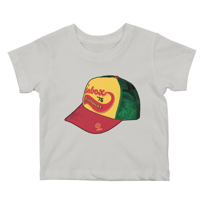 inbox rasta mother trucker Kids Baby T-Shirt by inboxstreetwear's Shop