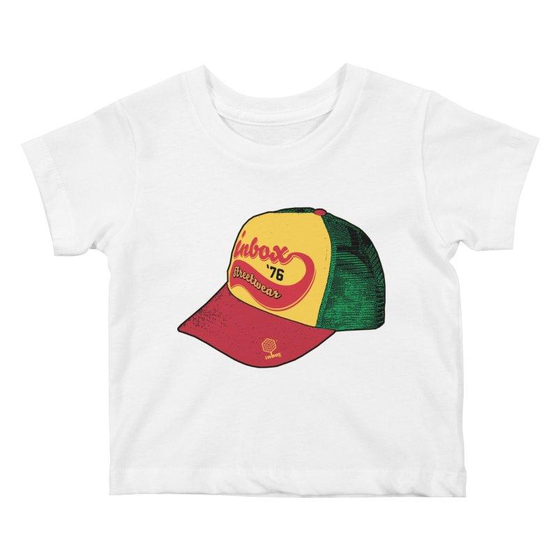 inbox rasta mother trucker Kids Baby T-Shirt by inboxstreetwear's Shop