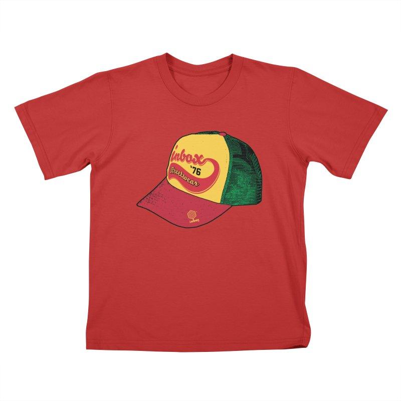 inbox rasta mother trucker Kids T-Shirt by inboxstreetwear's Shop