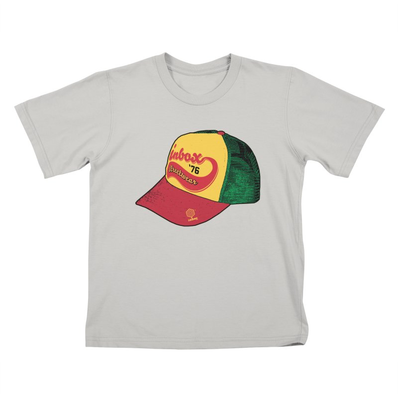 inbox rasta mother trucker Kids T-shirt by inboxstreetwear's Shop