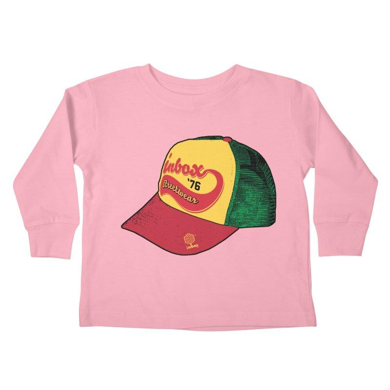 inbox rasta mother trucker Kids Toddler Longsleeve T-Shirt by inboxstreetwear's Shop