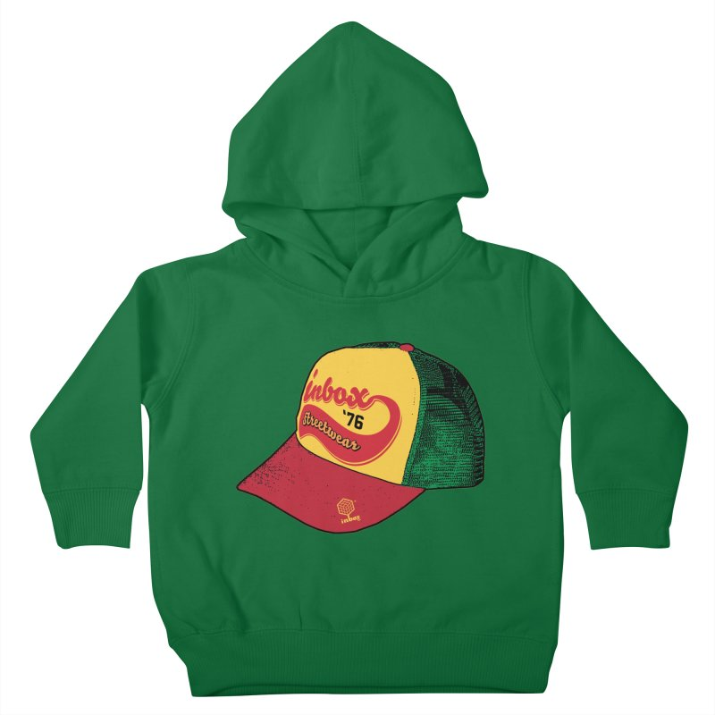 inbox rasta mother trucker Kids Toddler Pullover Hoody by inboxstreetwear's Shop